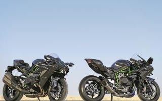 Kawasaki Ninja H2/ H2R: колесницы огня