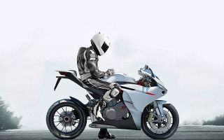 Проект Audi Supersport 10R для мотоциклов
