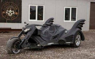 Трайк – сочетание автомобиля и мотоцикла