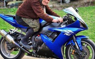 Какой мотоцикл лучше для бабушки?