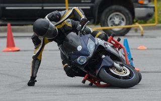 Техника езды на мотоцикле: разворот на мотоцикле