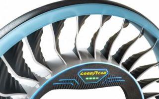 Летающие шины или сумасшедший дизайн Goodyear