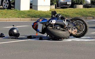 Авария на мотоцикле: как не упасть с мотоцикла