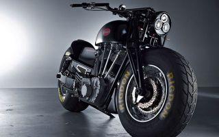 Leonhardt Gunbus 410 – самый большой мотоцикл в мире