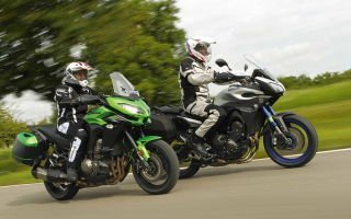 В стране приключений: Kawasaki Versys 1000 Tourer VS Yamaha MT-09 Tracer