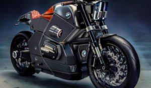 Городской гонщик мото концепт от компании БМВ Urban Racer