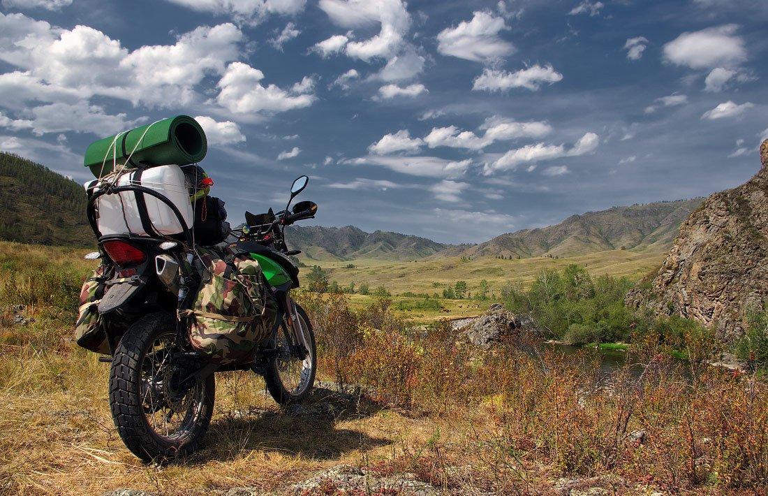 Мотоцикл для путешествий, фото