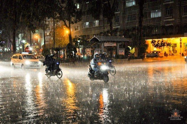 Как ездить на мотоцикле в дождь, фото