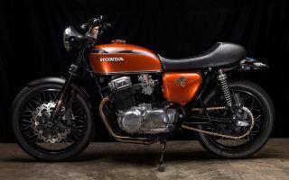 Обзор легендарного и нестареющего байка Honda CB 750