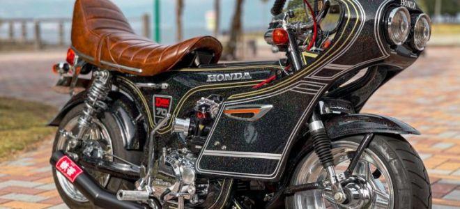 Honda Super Cub и Monkey в стиле Босодзоку – посмотрите на красоту