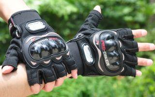 Мотоциклетные перчатки – сборник знаний