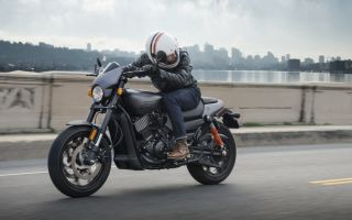 Harley-Davidson Street Rod – новый мотоцикл