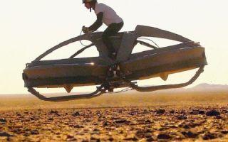 Летающий мотоцикл создан во Франции