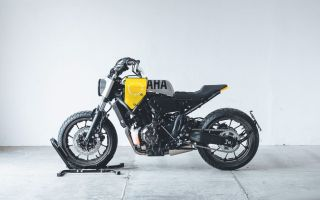"Yamaha XSR700 ""Кузнечик"" от Hookie Co."