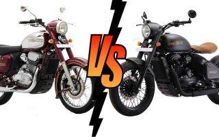 Jawa Classic против Jawa Perek. Что бы вы выбрали?