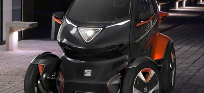 Seat Minimó — все преимущества автомобиля и мотоцикла.