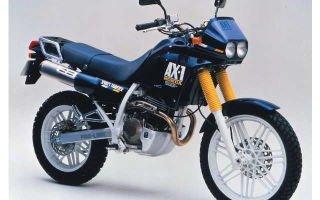 Характеристика особенностей мотоцикла Honda AX 1