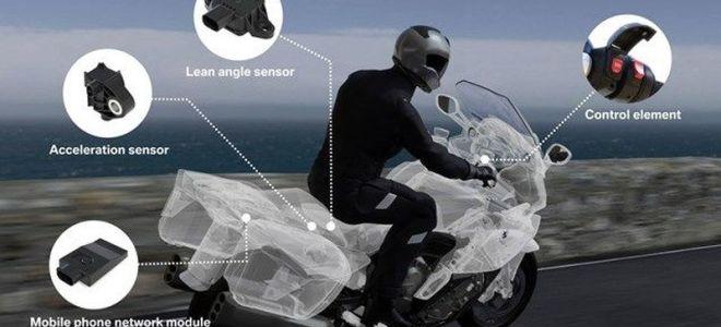 BMW оснастит мотоциклы автоматической системой спасения