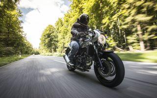 Новинка в линейке мотоциклов Suzuki — вечный кафе-рейсер V-Twin Roadsport SV650X