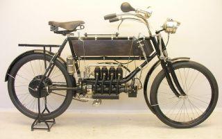 Краткая история четырёхрядного мотоцикла