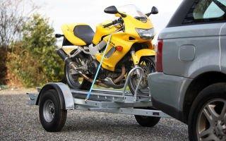 Как перевозить мотоцикл?