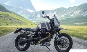 Элегантный итальянский оттенок Moto Guzzi Stelvio «Gran Sasso»