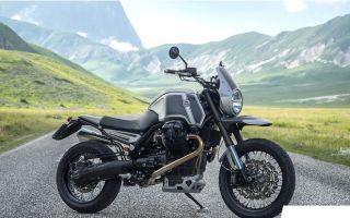 """Элегантный итальянский оттенок Moto Guzzi Stelvio """"Gran Sasso"""""""
