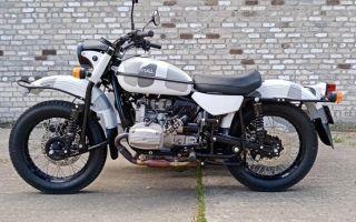 Новые мотоциклы Урал – Евро5