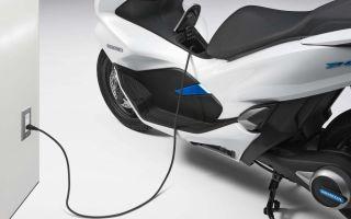 Электрический скутер Honda PCX Electric уже в продаже