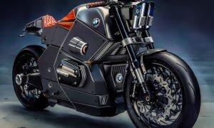«Городской гонщик» мото концепт от компании БМВ Urban Racer