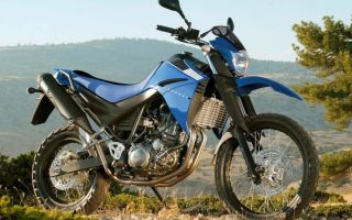 Мотоцикл турист эндуро Yamaha XT660R