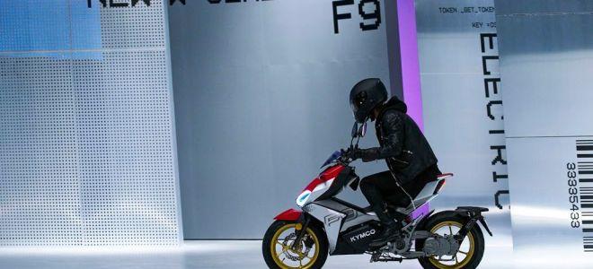 Kymco F9 – городской скутер с батареей 3,84 кВтч