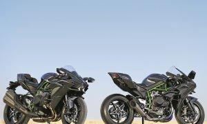 Kawasaki Ninja H2 и Kawasaki ninja H2R – колесницы ада