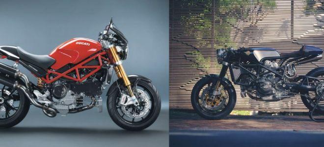 """Ducati Monster SR4 """"Angolare"""" от Кафе Гонщика Бенджи"""