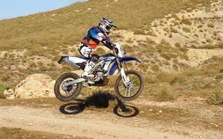 Yamaha WR 450 F – отчет о вождении