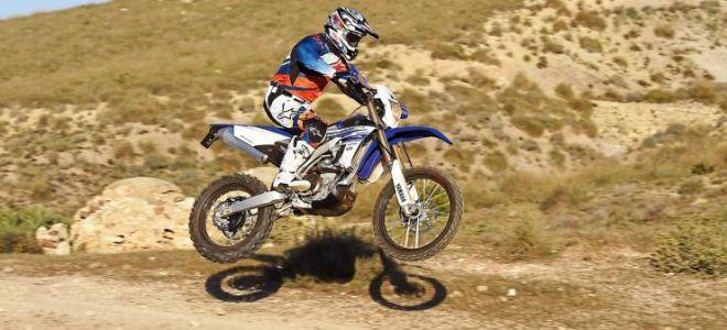 Yamaha WR 450 F — отчет о вождении