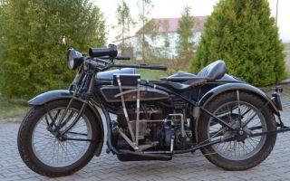 Мотоцикл Хендерсон К – четверо Гэри из Чикаго