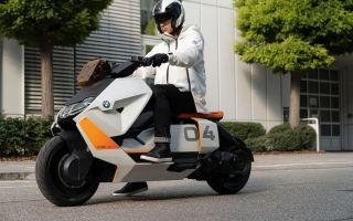 BMW Definition CE 04 – новый электроскутер BMW