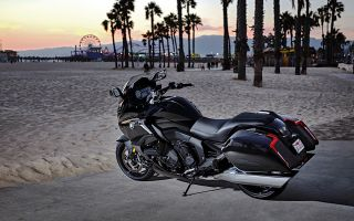 Черный, злой и быстрый – BMW K 1600 B