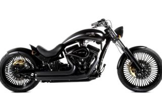 Роскошный мотоцикл Lauge Jensen и Kahn Design
