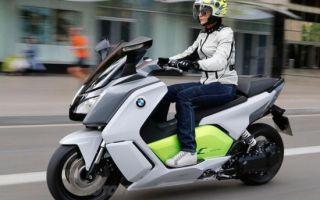 В России скоро появится электрический скутер BMW C evolution