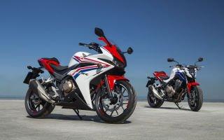 HONDA CBR500R ABS — идеальный мотоцикл для старта
