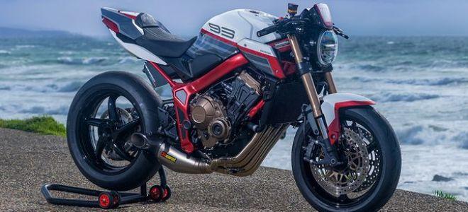 Встречайте победный кастом на базе Honda CB650R