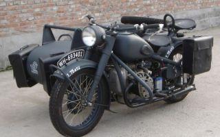 Военные мотоциклы. История и современность