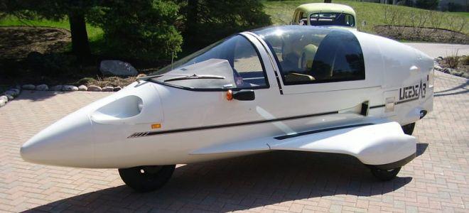 Мотоцикл будущего пришел из прошлого. Litestar – почти самолет