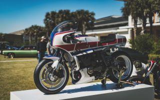 Yamaha XJ750 Maxim от Дерека Каймса