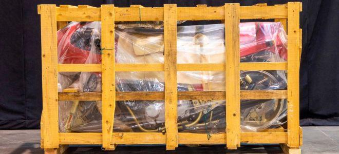 Laverda SFC 1000 был в упаковке 34 года! Часть большой истории