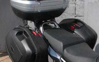 Как выбрать хороший багажник для мотоцикла?