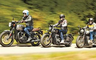 Тест классических мотоциклов Triumph