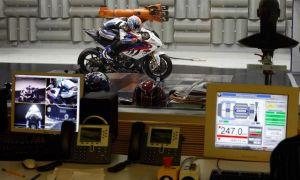 Мотоцикл Kawasaki испытан в аэродинамической трубе DNW